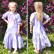 Children's Cotton Heart Dress