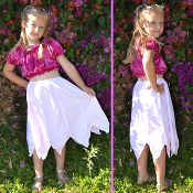 Child's Cotton Point Skirt