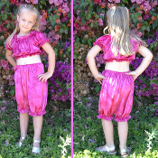Children's Velvet Bloomers