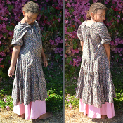 Children's Print Heart Dress