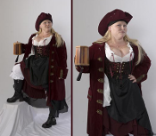 Ladies Pirate Coat