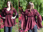 Adorned Chiffon Gwendalyn blouse