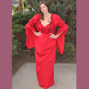 Gwendelyn Gown (Red cotton)