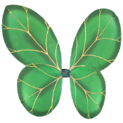 Green leaves Wings