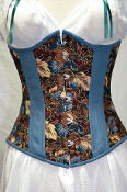 Autumn Leaves Underbust Corset